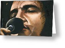 Elvis 24 1972 Greeting Card by Rob De Vries
