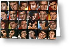 Elvis 24 Greeting Card by Rob de Vries