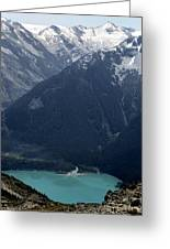 Emerald Cheakamus Lake Whistler Canada Greeting Card by Pierre Leclerc Photography