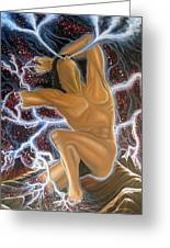 Emergence Greeting Card by Rick Mittelstedt