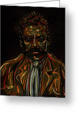 Emiliano Zapata Greeting Card by Americo Salazar