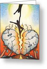 Emotional Rescue Greeting Card by Amy S Turner