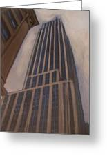 Empire State Building 1 Greeting Card by Anita Burgermeister