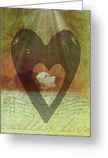 Endless Love Greeting Card by Holly Kempe