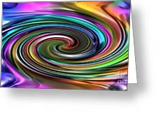 Energetic Organica 2020 Series No.2  Fluidica Greeting Card by Michael C Geraghty
