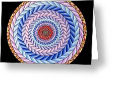 Energy In Movement Greeting Card by Marcia Lupo
