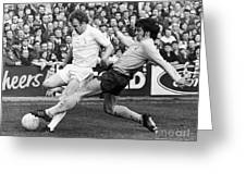 England: Soccer Match, 1972 Greeting Card by Granger