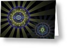 Enlightenment Greeting Card by David April