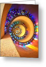 Enlightenment Greeting Card by John Galbo