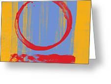 Enso Greeting Card by Julie Niemela