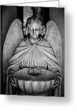 Entrance Angel Greeting Card by Anthony Citro