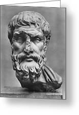 Epicurus (342?-270 B.c.) Greeting Card by Granger