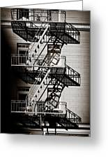 Escape Greeting Card by Dave Bowman