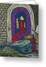 Eternal Peace And Happiness Greeting Card by Deidre Firestone