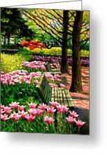Eternal Spring Greeting Card by John Lautermilch
