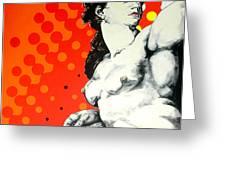 Eva Greeting Card by Jean Pierre Rousselet