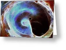 Event Horizon Greeting Card by Wingsdomain Art and Photography