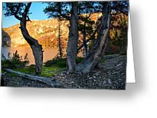 Everson Lake 2 Greeting Card by Leland D Howard