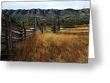 Ewing-snell Ranch 1 Greeting Card by Larry Ricker