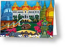 Exotic Bangkok Greeting Card by Lisa  Lorenz