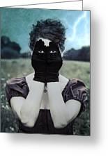 Eyes Greeting Card by Joana Kruse