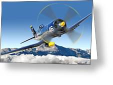 F4-u Corsair Greeting Card by Larry McManus