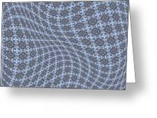 Fabric Design 13 Greeting Card by Karen Musick