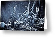 Facing The Enemy II Greeting Card by Marc Garrido