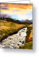 Faerie Lands - Beautiful Morning On The Isle Of Skye Greeting Card by Mark E Tisdale