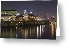 Fairmount Water Works - Philadelphia  Greeting Card by Brendan Reals