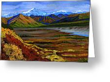 Fall In Alaska Greeting Card by Vidyut Singhal