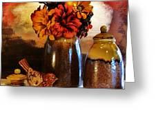 Fall Still Life Greeting Card by Marsha Heiken