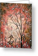 Far Far Away By Madart Greeting Card by Megan Duncanson