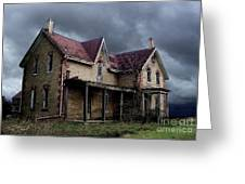Farm House Greeting Card by Tom Straub