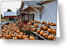 Farmstand Greeting Card by Edward Sobuta