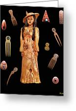 Fashion Jewellery  Greeting Card by Eric Kempson