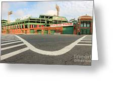 Fenway Park IIi Greeting Card by Clarence Holmes