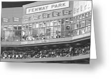 Fenway Park Greeting Card by Lauri Novak