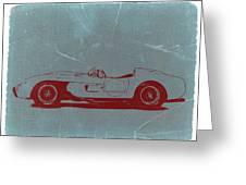 Ferrari Testa Rosa Greeting Card by Naxart Studio