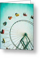 Ferris Wheel 2 Greeting Card by Kim Fearheiley
