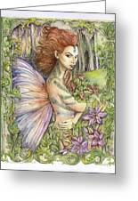 Fiary Collection 1 Greeting Card by Morgan Fitzsimons