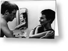 FILM: BREATHLESS, 1960 Greeting Card by Granger