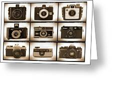 Film Camera Proofs 1 Greeting Card by Mike McGlothlen