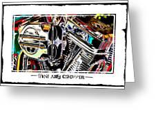 Fine Art Chopper II Greeting Card by Mike McGlothlen