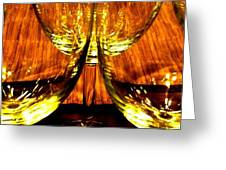 Fine Wine And Dine 3 Greeting Card by Will Borden