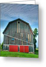 Finger Lakes Barn Iv Greeting Card by Steven Ainsworth