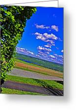 Finger Lakes Country Greeting Card by Elizabeth Hoskinson