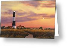 Fire Island Lighthouse Greeting Card by Diane Romanello