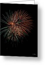 Fireworks Greeting Card by Christopher Holmes