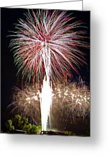 Fireworks Greeting Card by Ernesto Grossmann